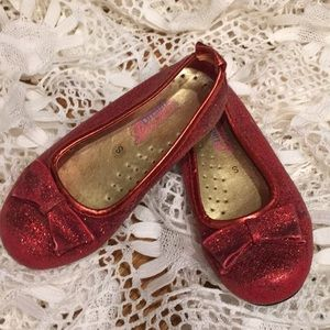 GIRLS RED RUBY SLIPPERS